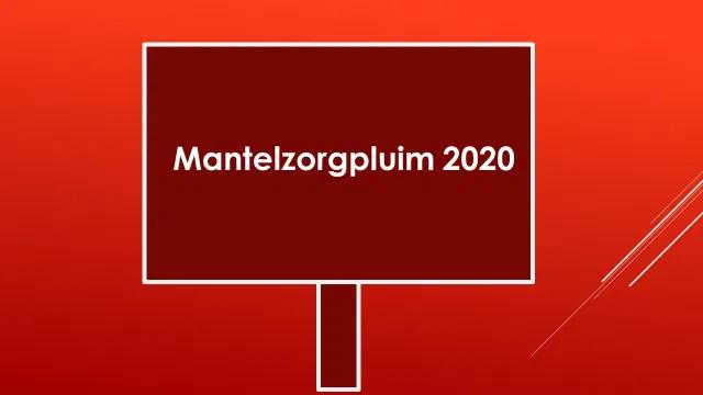 Mantelzorg Pluim 2020 WadZorg